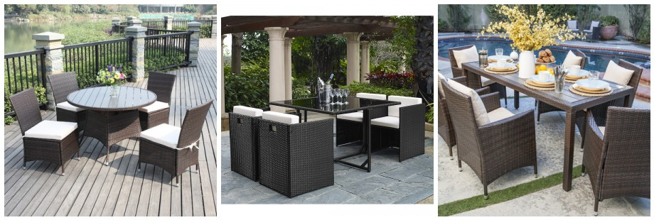 Up to 70 off patio dining sets top deals on the web for Best patio set deals
