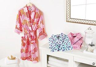 Colorful & Cozy Bath Robes