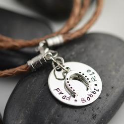 Leather Bracelets on Sale