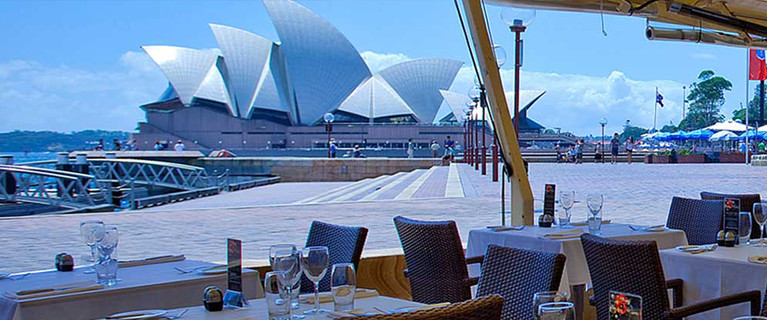 waterfront restaurant sydney