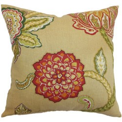Floral Accent Cushions for Fall