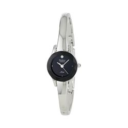 60%  off Armitron Women's Diamond-Accented Silver-Tone Bangle Watch