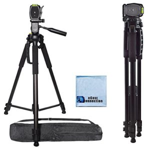 72-Inch-Elite-Series-Professional-Full-Size-Camera-Tripod-for-Canon-Nikon-Sony-Samsung-Olympus-Panasonic-Pentax-eCost-Microfiber-Cloth-0