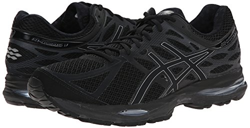 asics mens cumulus black