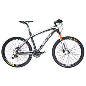 BEIOU-Carbon-Fiber-Mountain-Bike-Hardtail-MTB-SHIMANO-M610-DEORE-30-Speed-Ultralight-108-kg-RT-26-Professional-External-Cable-Routing-Toray-T800-Matte-Black-CB005-White-15-Inch-0