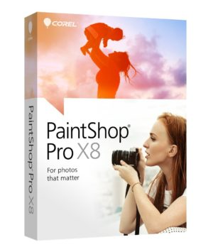 Corel PaintShop Pro X8 only $24.90
