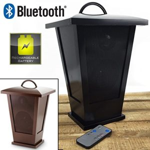 Fine-Life-Audio-Products-Wireless-Indoor-Outdoor-Speaker-Lantern-with-LED-Lights-Bluetooth-Black-0