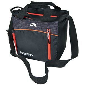 Igloo-00059964-Stowe-Mini-City-Insulated-Soft-Cooler-9-Cans-BlackOrange-0