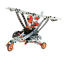 Meccano-Erector – Super Construction Set, 25 Models, 640+ Parts