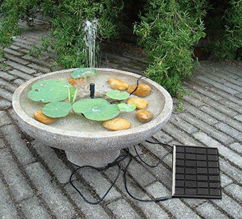 Sunnytech solar power water pump kits garden fountain - Fuentes solares para jardin ...