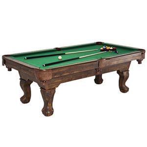 Barrington-Billiards-Traditional-Ball-and-Claw-Leg-Billiard-Table-75-0