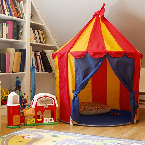 Childrenu0027s Indoor Play Tent ... & Childrenu0027s Indoor Play Tent u2014 CIRCUS TENT- Great Gift for Kids -