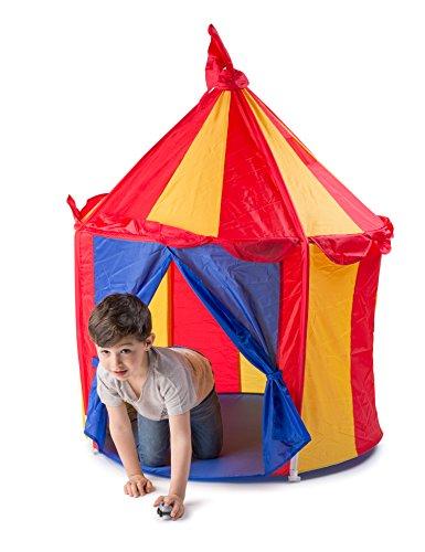 Childrenu0027s Indoor Play Tent u2014 CIRCUS TENT- Great Gift ...  sc 1 st  amazon deals & Childrenu0027s Indoor Play Tent u2014 CIRCUS TENT- Great Gift for Kids -