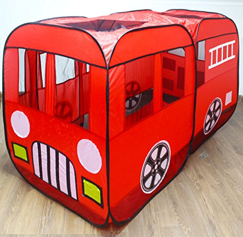 Large Red Fire Truck Pop-Up Play Tent ...  sc 1 st  amazon deals : play tents for boys - memphite.com