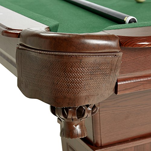 MD Sports Traditional Square Leg Billiard Table - Md pool table