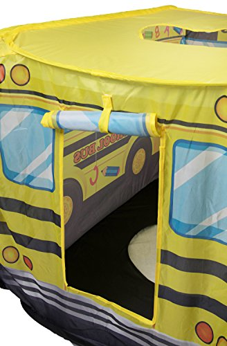 School Bus Kids Indoor and Outdoor Play Tent ... & School Bus Kids Indoor and Outdoor Play Tent u2013 Easy Assembly -