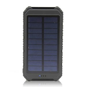 Solar-Charger-Battery-Matone-Portable-10000mAh-Solar-Battery-Charger-Rain-Resistant-Shockproof-Dual-USB-output-Solar-Powered-Phone-Charger-for-iPhone-iPod-iPad-Samsung-HTC-GPS-Gopro-Camera-Black-0