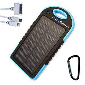 Solar-Charger-Brolar-5000mAH-Portable-Power-Bank-for-iPhone-iPad-Android-Cell-Phone-Tablet-Waterproof-DustProof-ShockProof-Portable-Charger-with-Dual-USB-Port-0