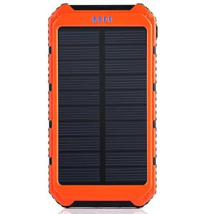 Solar-Charger-Portable-Solar-Power-Bank-10000mAh-Dual-USB-Battery-Charger-External-Backup-Power-Pack-for-Cell-Phone-Camera-GPS-Tablets-and-Other-5V-USB-Devices-Orange-0