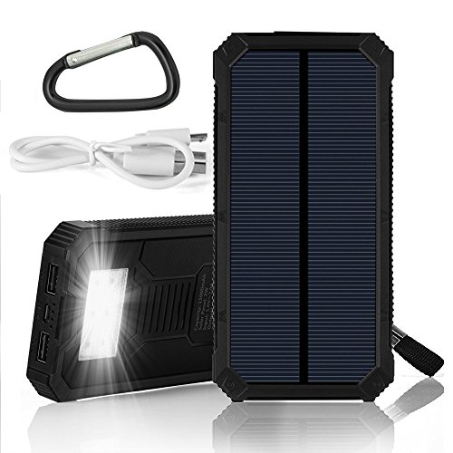 Solar Charger Solar Power Bank Grde 15000mah Solar Panel