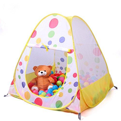 Truedays® 36.6u201d X 38.2u201dkids Teepee Play Tent Ball Pit Playhouse u2013 Indoor  sc 1 st  amazon deals & Truedays® 36.6
