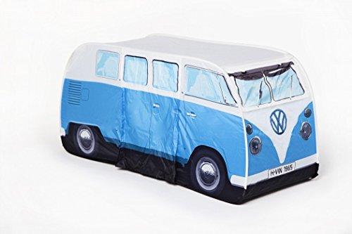 VW Volkswagen T1 C&er Van Kids Pop-Up Play Tent u2013 Blue & VW Volkswagen T1 Camper Van Kids Pop-Up Play Tent u2013 Blue -