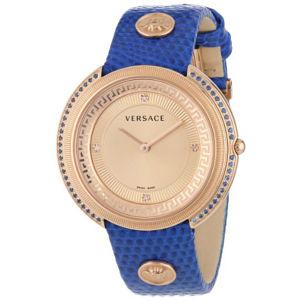 Versace Women's Diamond & Sapphire Gold Watch 73% off