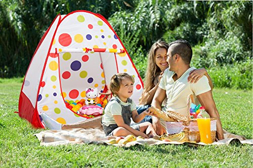 Young Kids Tents ...  sc 1 st  amazon deals & Young Kids Tents / Play Tent Portable Folding Red Twist Indoor ...