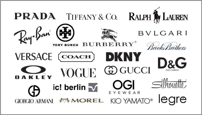 designer brand labels