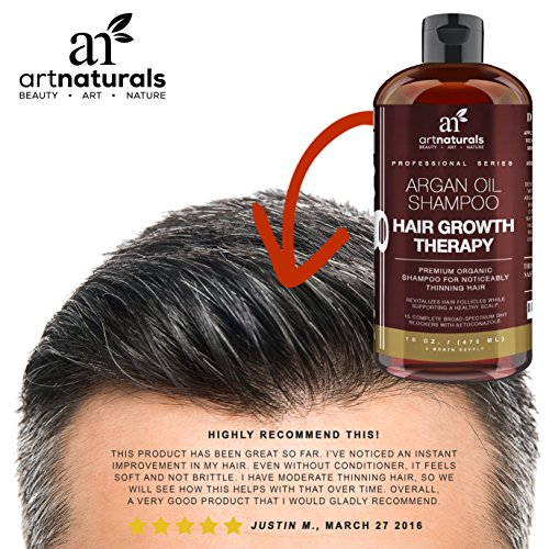 Art Naturals Organic Argan Oil Hair Loss Shampoo For Hair