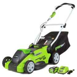 Save up to 32% on Greenworks Lawnmower and Outdoor Tools