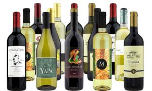 $65 for 15 Bottles of Premium Wine from Heartwood & Oak