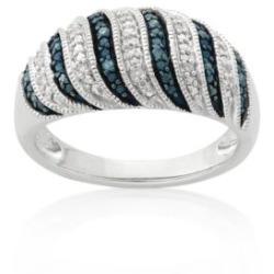 Blue and White Diamond Jewelry