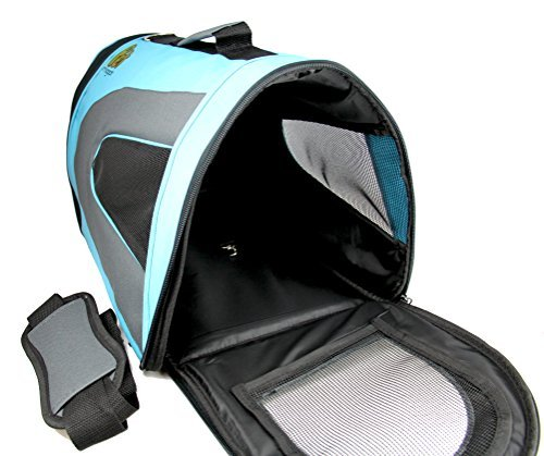 Soft Sided Airline Approved Pet Carrier Two Cats