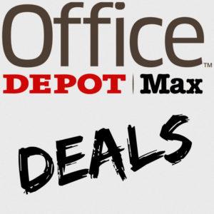 Office depot office max school deals for Deals by depot