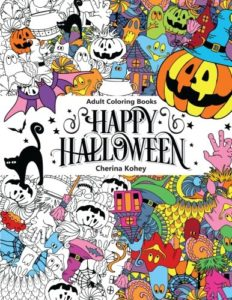 Adult-Coloring-Book-Happy-Halloween-for-Relaxation-and-Meditation-Volume-10-0