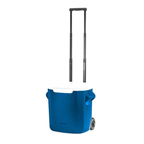 Coleman 16-Quart Personal Wheeled Cooler, Blue