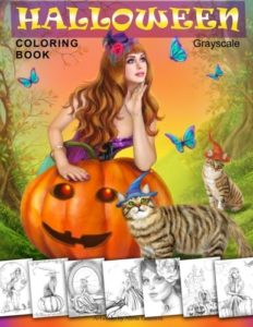 Halloween-Coloring-Book-Grayscale-Coloring-Book-for-Adults-0