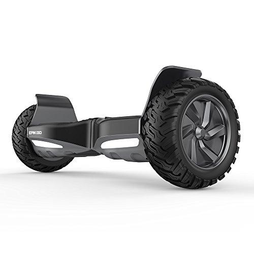 EPIKGO Self Balancing Scooter Hoverboard Balance Board - All-Terrain Tire,  400W Dual-Motor, 8 5