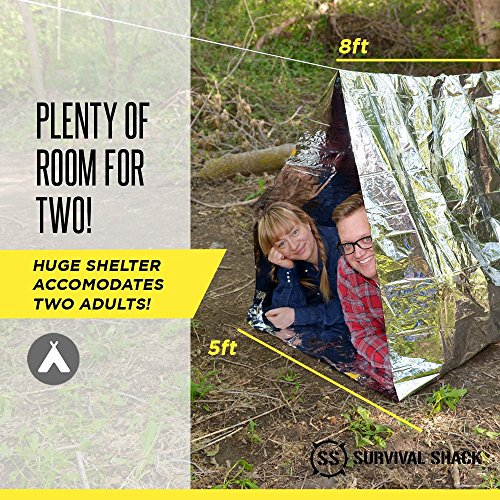 Survival Shack® Emergency Survival Shelter Tent ... : emergency tube tent - memphite.com