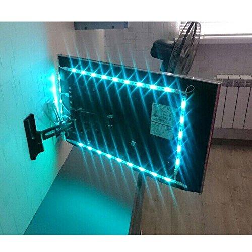 BASON USB LED TV Bias Lighting for 60 to 70 Inches HDTV LED Strip for Back of Tv