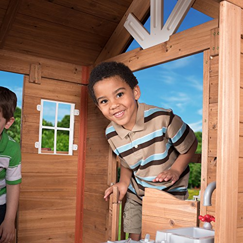Beau Backyard Discovery Scenic Heights All Cedar Playhouse
