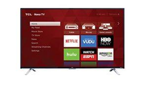 TCL 55-Inch 4K Ultra HD Roku Smart LED TV
