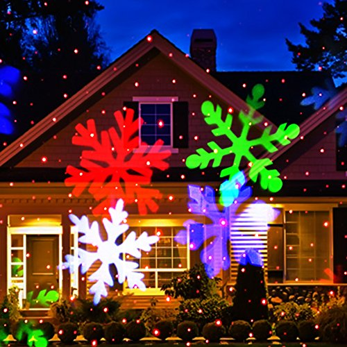 Christmas Laser Light Newest Version Ucharge Snowflake Led