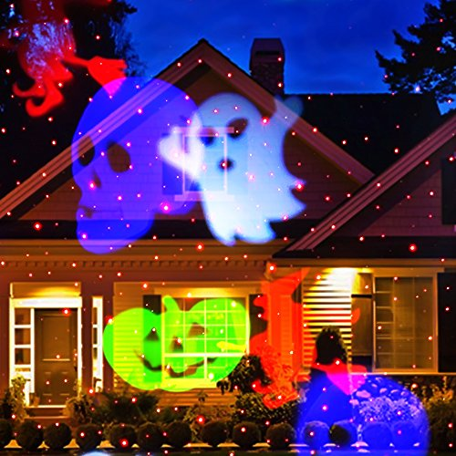 deals decoration lighting holiday light snowflake led latest newest show rotating sparkling product laser outdoor spotlight landscape multi slides christmas lights ucharge version for projection