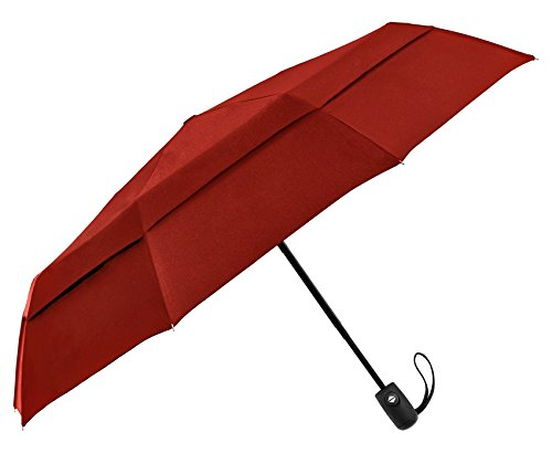 eez y windproof double canopy construction compact travel umbrella - Compact Canopy 2016
