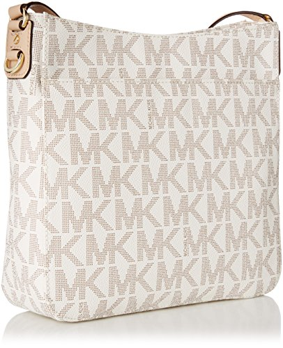 26211df024dc MICHAEL Michael Kors Jet Set Travel Large Messenger Vanilla