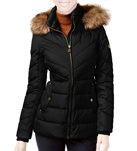 741d9ac765a20 Michael Michael Kors Faux-Fur-Collar Hooded Down Puffer Coat