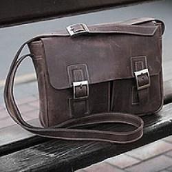 Vintage Leather Messenger Bags
