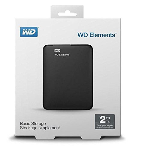 how to open wd elements portable